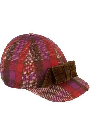 Gucci Kids - Checked cap - Girl - 7-9 Years - - Baseball caps