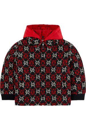 Gucci Mini Me jacquard knit jacket GG