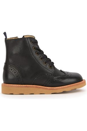 Young Soles Leather ankle boots - Sidney - Boy - 30 (UK 11.5) - - Ankle boots