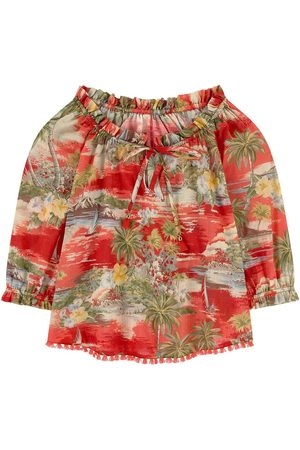 ZIMMERMANN Girls Blouses - Kids Sale - Printed blouse - Girl - 4 years - - Blouses