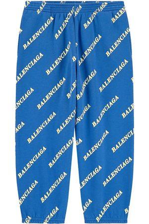 Balenciaga Sports Pants - Kids Sale - Logo print tracksuit pants - Unisex - 4 Years - - Sweatpants