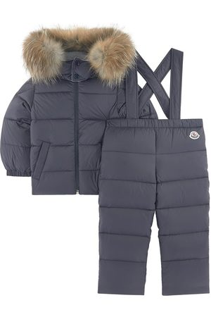 Moncler Kids - New Mauger winter ski jacket and trousers with feather and down padding - Unisex - 18-24 Months - - Ski jackets
