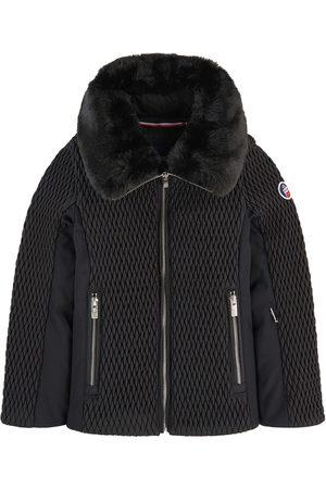 Fusalp Bi-material ski jacket with smocks Montana II Jr