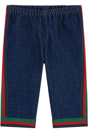 Gucci Regular fit jeans - Bande Web