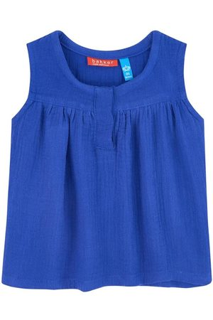 Bakker made with love Sale - Cotton crepe top - Girl - 6 Months - - Tanks and vests
