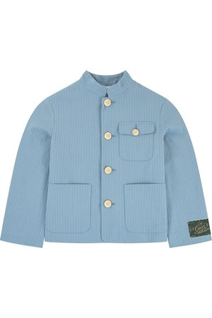Gucci Striped suit jacket - x Angela Lynne