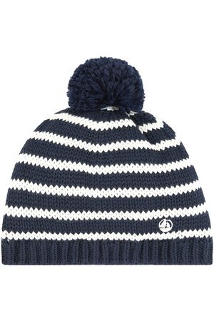 Petit Bateau False fur-lined beanie hat - Boy - 10-12 Years - - Beanies