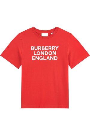Burberry Girls T-shirts - Kids - Branded Tee - Girl - 10 years - - T-shirts