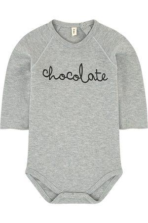 Organic Zoo Graphic organic cotton onesies - Unisex - 0-3 months - Grey - Baby bodies