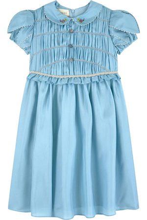 Gucci Mini Me silk dress