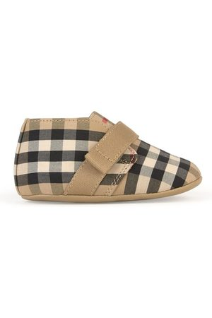 Burberry Check baby boots