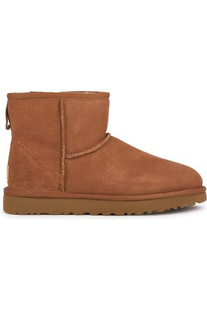 UGG Kids - Fur-lined leather and wool boots - Classic Mini II - Unisex - 36 EU - - Ankle boots