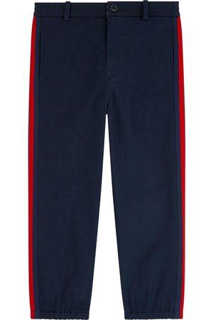 Gucci Mini me Straight cut pants - Bande Web
