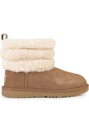 UGG Kids - Fur-lined boots - Fluff Mini Quilted - Unisex - 32,5 EU - - Ankle boots