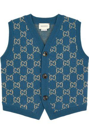 Gucci Mini Me wool cardigan - GG