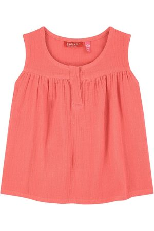 Bakker made with love Girls Tank Tops - Sale - Cotton crepe top - Girl - 12 Months - - Tanks and vests