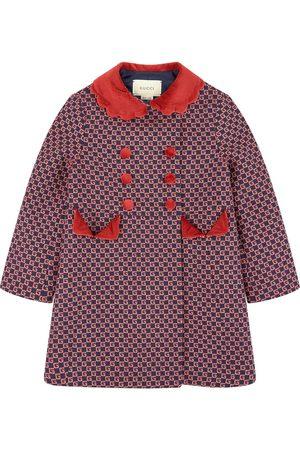 Gucci Girls Duffle Coat - Kids - Smart jacquard knit coat - Girl - 4 years - - Duffle coats