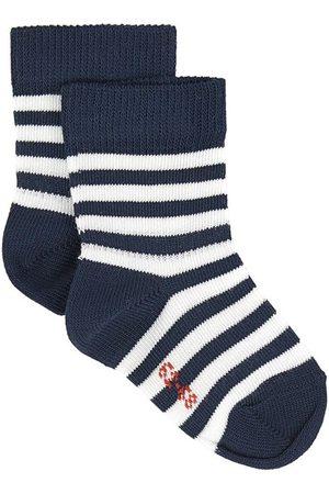 Falke Kids - Pair of stripe print socks - Unisex - 1-6 months - - Socks