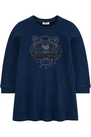Kenzo Embroidered Tiger sweatshirt dress - Party Flower