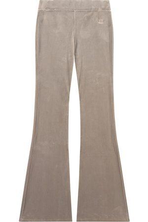 Designers Remix Sale - Flare fit velvet pants - Frances - 16 Years - - Trousers