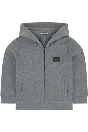Dolce & Gabbana Kids Sale - Mini Me hoodie - Boy - 4 years - Grey - Hoodies