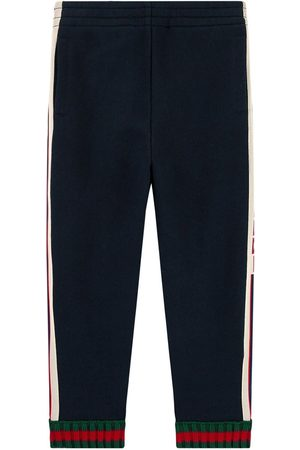 Gucci Logo print tracksuit pants