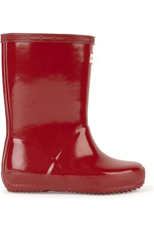 Hunter Rain boots - Original First Gloss Military Red