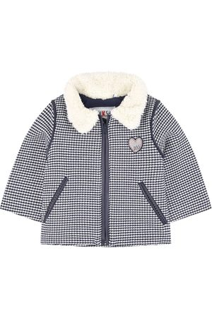 IKKS Boys Leather Jackets - Kids Sale - Houndstooth Biker Jacket - Girl - 6 mån - - Spring and fall jackets