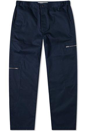 Paria Farzaneh Men Pants - Navy Oval Trouser