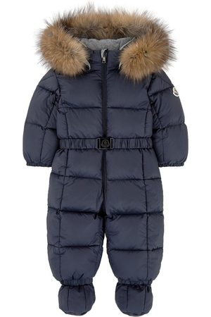 Moncler Jumpsuits - Kids - Down and feather jumpsuit - Unisex - 9-12 Months - - Bunting