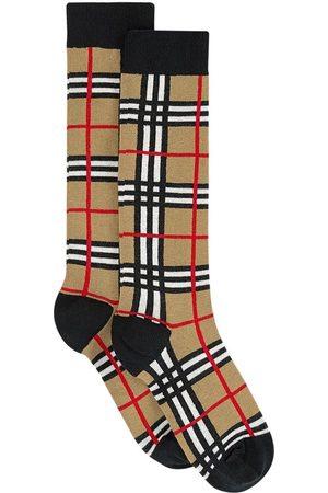 Burberry Socks - Kids - Pair of knee socks - Unisex - 30-32 - - Socks