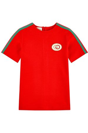 Gucci Girls Casual Dresses - Kids - Mini Me milano jersey tunic - Bande Web - Girl - 4 years - - Casual dresses