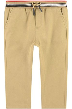 Burberry Kids - Slim Fit Chinos - Boy - 12 Months - - Trousers