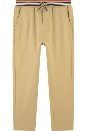 Burberry Slim fit twill pants