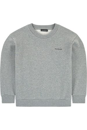 Balenciaga Kids Sale - Logo sweatshirt - Unisex - 10 Years - Grey - Sweatshirts