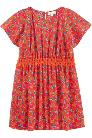 BLEU COMME GRIS Girls Casual Dresses - Sale - Printed silk dress - Unisex - 6 Years - - Casual dresses