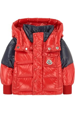 Moncler Boys Puffer Jackets - Kids - Down and feather padding coat - Boy - 9-12 months - - Padded and puffer jackets