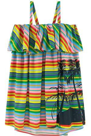 Msgm Kids Sale - Printed dress - Girl - 12 years - - Sun dresses