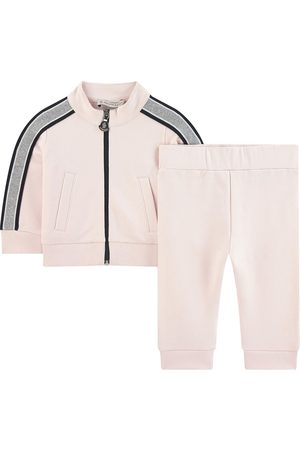 Moncler Kids - Light sweatshirt and matching tracksuit pants - Girl - 9-12 months - Navy - Tracksuits