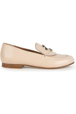Chloé Mini Me leather loafers