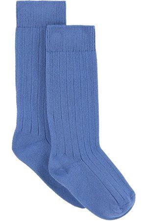 Collegien Kids - Pair of rib knit knee socks - Unisex - 21/23 (UK 4.5/6 - US 5.5/7) - - Socks