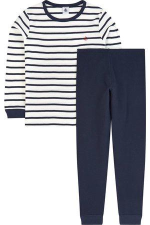 Petit Bateau Boys Pajamas - Breton pyjamas - Boy - 2 Years - - Pyjamas