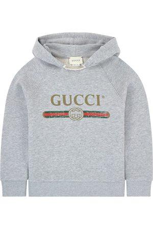Gucci Boys Hoodies - Kids - Mini Me hoodie - Boy - 4 years - Grey - Hoodies