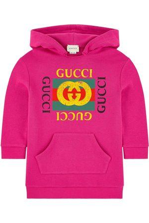 Gucci Girls Casual Dresses - Kids - Mini Me sweatshirt dress - Girl - 4 years - - Hoodies