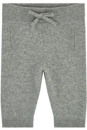 Dolce & Gabbana Kids Sale - Cashmere Baby Pants - Boy - 9-12 Months - Grey - Trousers