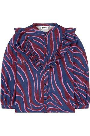 Molo Girls Blouses - Sale - Printed shirt - Girl - 3-4 Years - - Blouses