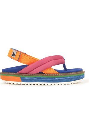 Maison Mangostan Girls Sandals - Sale - Sandals with platform soles - Pitahaya - Girl - 34 EU - - Strappy sandals