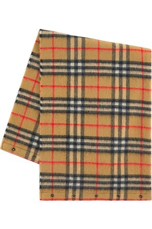 Burberry Kids - Checked Tube Scarf - Unisex - One Size - - Knitted scarves