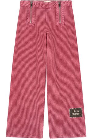 Gucci Flare fit velvet pants - Horama