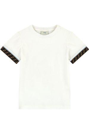 Fendi Kids - Plain T-shirt - Unisex - 10 years - - T-shirts